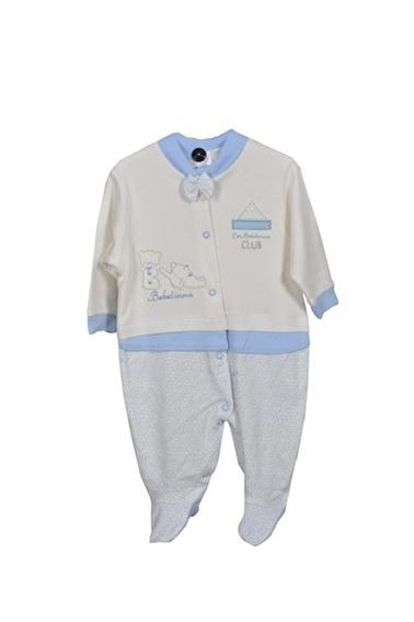Sema Bebe Bebelinna Penye Tulum Erkek Bebek Giyim Mavi